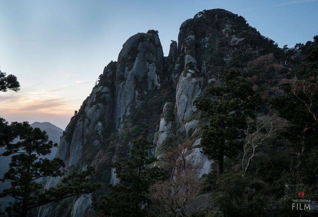屋久島 山岳写真